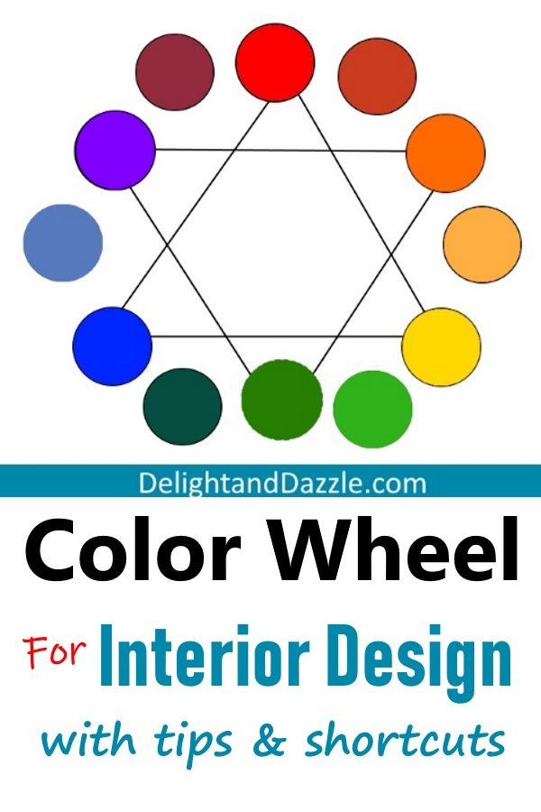 Color wheel interior design with tips and shortcuts - Color wheel interior design ...